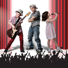 Kids music talent