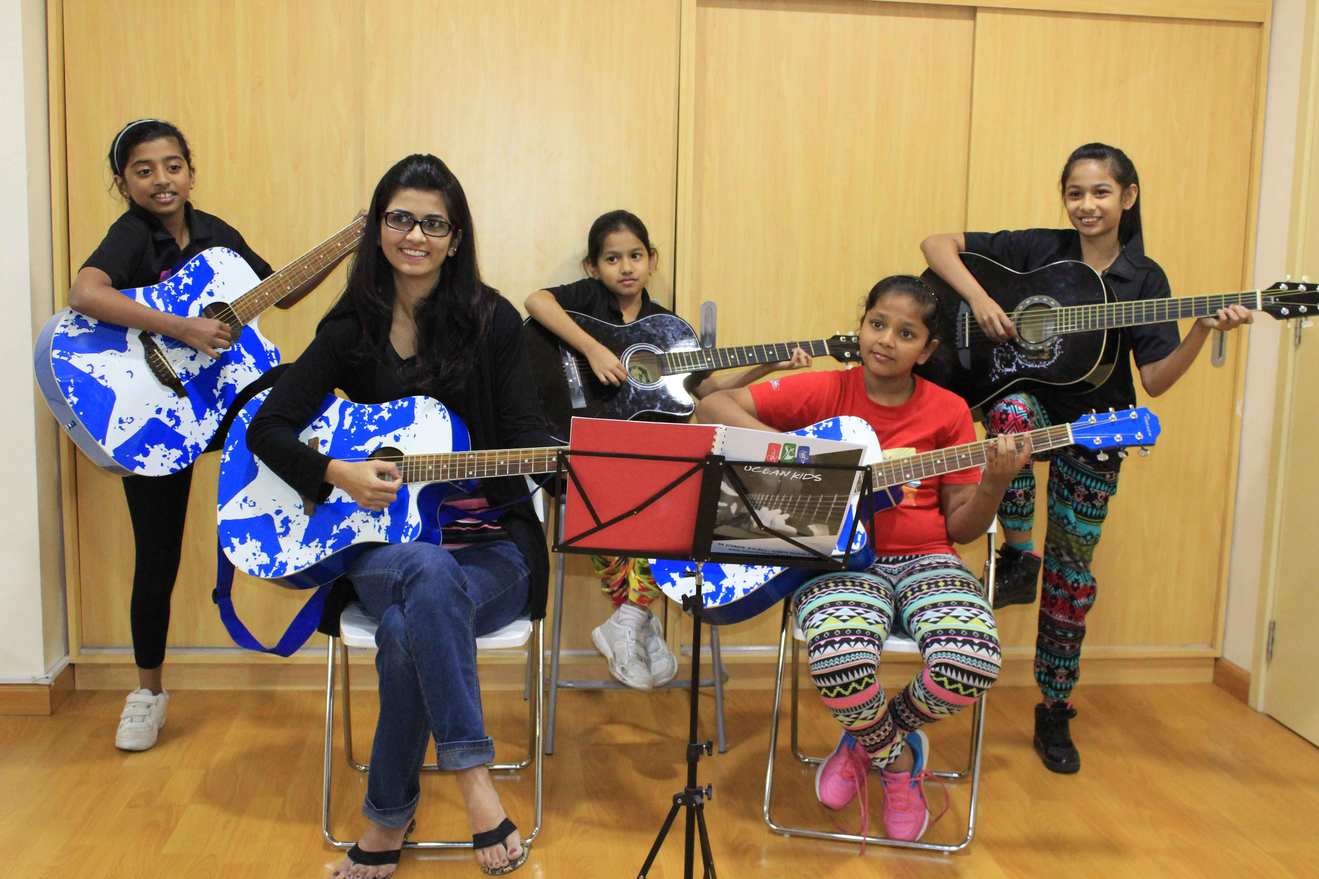 Dubai Guitar classes