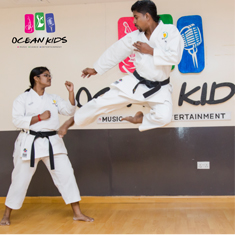 Karate classes Dubai