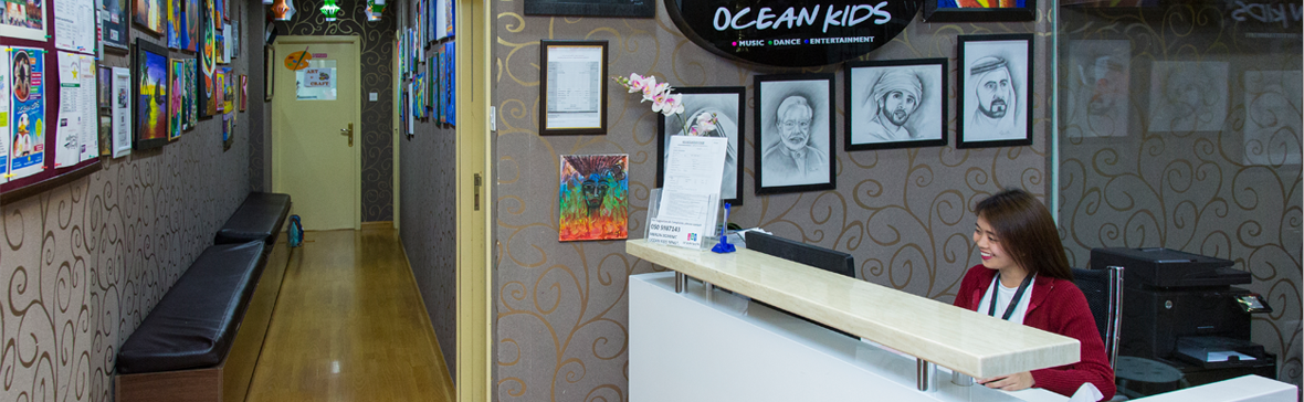Ocean Kids Reception Desk