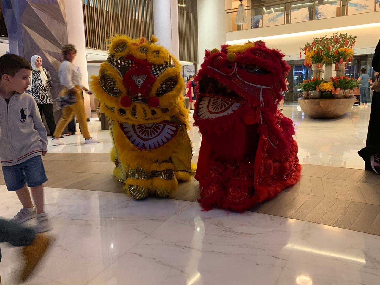 Chinese lion dance 2 - DANCE TROUPE
